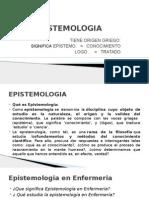 Curso Educacion en Enfermeria Epistimologia Edu