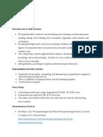 nueropsychologist career journal