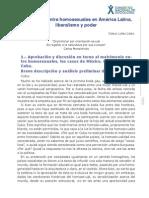 1. Lopez-Matrimonio Entre Homosexuales en America Latina, Liberalismo y Poder (1)