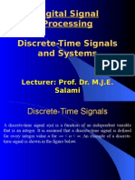 Discrete - time System and Analysis