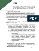 5. Pliego Tecnico Asistencia t. Obra