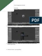 Cara Membuat Teks Animasi Menggunakan Blender