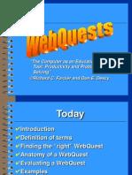 WebQuests A