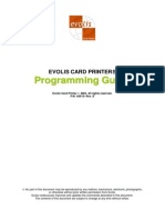 Programming Guide evolis qu2