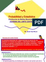 Distrib de Medias Muestrales y Teo LÍMITE CENTRAL