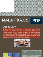 Mala Praxis Expo Medicina Legal