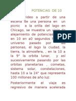 POTENCIAS  DE 10