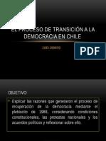 Transicion a La Democracia