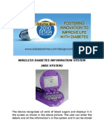 Wireless Diabetes Information System