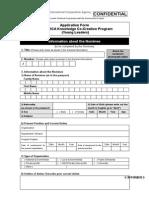 Application Form JICA