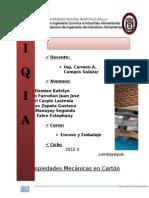 Propiedades Mecanicas Del Carton