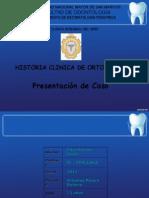Caso Clinico Ortodoncia