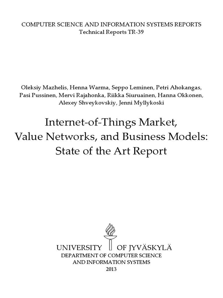 Iot Sota Report 2013