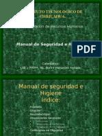 Manual Seguridad Higiene