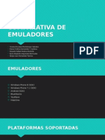 Comparativa de Emuladores De Sistemas Operativos Moviles