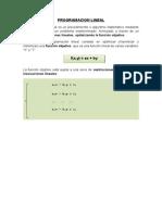 Programación Linea1