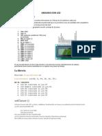 Arduino Con Lcd