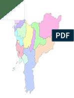 Peta Administrasi Kalimantan Barat