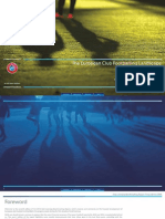 UEFA Club Licensing Benchmark 2014