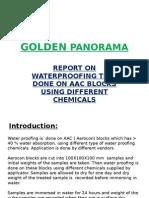 Final Report on Waterproofing