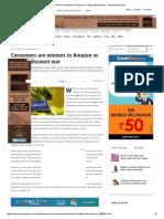 Consumers Are Winners in Amazon vs Flipkart Discount War - Moneycontrol