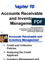 Ch10 Accounts Receivable and Inventory Management