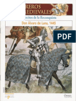 007 Guerreros Medievales Ejercitos de La Reconquista 1445 Osprey Del Prado 2007