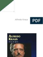 Alfredo Kraus vida e historia