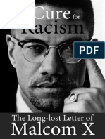 A Cure for Racism - The Long-lost Letter of Malcom X