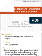 Prinsip Dasar Dan Imuno-patogenesis Infeksi Bakteri Jamur Virus (Dr.yeva)