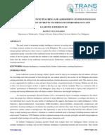 5. Edu Sci - Ijesr - Multiple Intelligences Teaching and Assessment