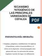 Fisiopatologia de Cefaleas