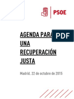 Programa económica del PSOE