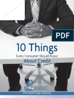 Credit Do's and Don'ts