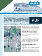 Bluewashing Fact Sheet