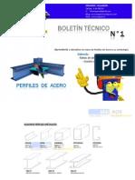 ACEROS BOLETIN TECNICO N°1
