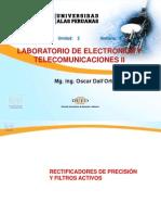Semana 3- Laboratorio de Electrónica y Telecomunicaciones II