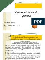 Colesterol Ovo Galinha