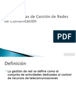 Gestion Redes