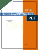 NMAT Word List