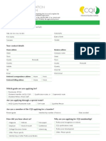 CQI 5pp Membership Application Form