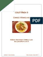 Livro de Receitas Carnes Vol 05