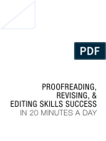 Proofreading, Revising, & Editing Skill Success in 20 Mintutes a Day