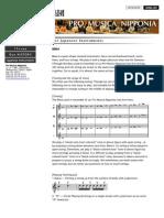 Pro Musica Nipponia BIWA