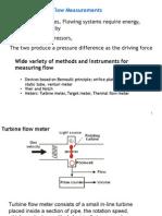Chapter 4 Flow Measurements