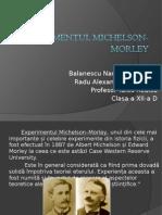 210235689 Experimentul Michelson Morley