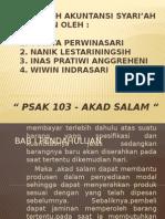 Ppt Psak 103 Akad Salam