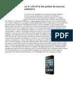 « Divulgué photos » révèle des parties du nouveau Apple ' iPhone 6' combinés.