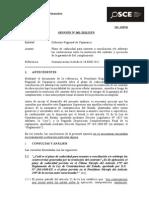 Consulta Osce - PLazo de Caducidad Arbitraje y G Arantia de FC