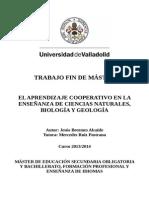 Brezmes 2014 - El Aprendizaje Cooperativo en La Enseñanza de Ciencias Naturales, Biología y Geología